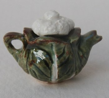 CAULIFLOWER TEAPOT