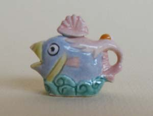 FISH TEAPOT - Click Image to Close