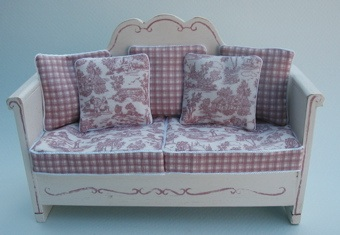 FRENCH BENCH - PINK