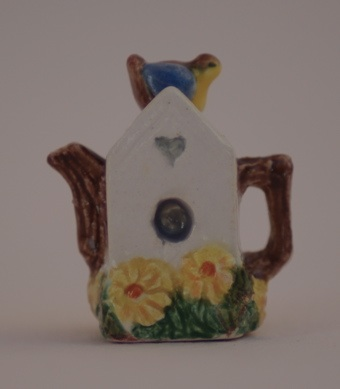 """NEW"" BIRDHOUSE TEAPOT"