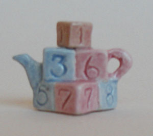 BUILDING BLOCKS TEAPOT