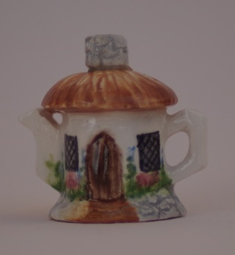 """NEW"" COBBLESTONE COTTAGE TEAPOT"